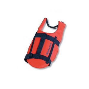 Redningsvest hund medium flytevest orange 8-15kg