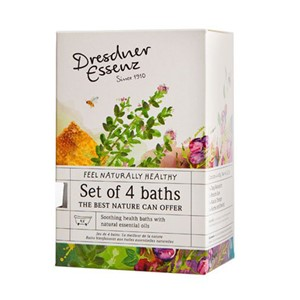 Badesalt gave sett 4 baths