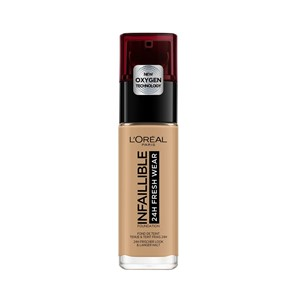 Foundation 24h Infallible Loreal  330 noisette hazelnut
