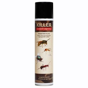 Insekstspray 300ml killer permetrin pluss