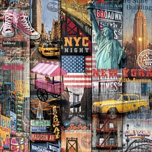 Kontaktpapir Folie 45cm x 2m New York manhatten