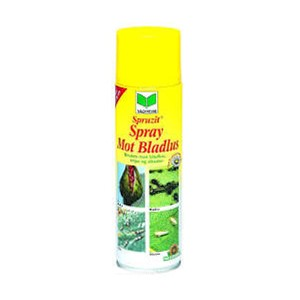 Spray mot bladlus inne og ute 400ml lusespray lus