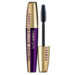 Mascara Sort Ekstra Volume Col Loreal So Couture