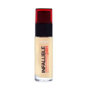 Foundation 24h Infallible Loreal  120 Vanilla