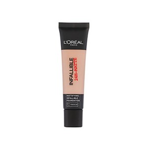 Foundation matte Loreal Infallible Fdt 10 Porcelain