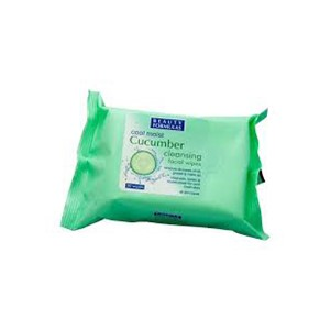Sminkefjerner serivetter beauty cucumber wipes sminkeserviet