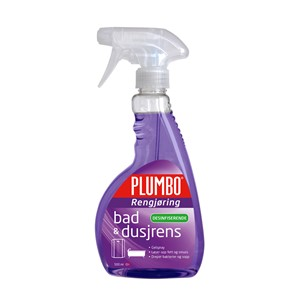 Spray dusjrens 500ml lilla plumbo clean